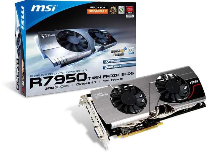 MSI R7950 TF 3GD5/OC BE